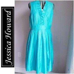 Jessica Howard Turquoise Dress 14